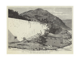 The Fatal Railway Collision Near Monte Carlo Giclee Print by Joseph Nash