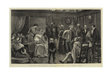 Amateur Theatricals, Finishing Touches in the Green-Room Giclee Print by Joseph Nash