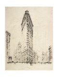 Flatiron Building, 1904 Giclee Print by Joseph Pennell