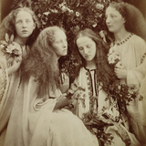 The Rose Bud Garden of Girls Photographic Print by Julia Margaret Cameron