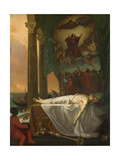 Titian Lying in State at the Palazzo Barberino Giclee Print by Joseph-Nicolas Robert-Fleury