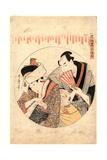 Sandanme Giclee Print by Kitagawa Utamaro