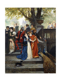 In the Park; Dans Le Parc Giclee Print by Jules Arsene Garnier