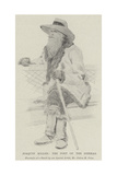 Joaquin Miller, the Poet of the Sierras Giclee Print by Julius Mandes Price