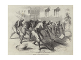 Mehtahs, or Street-Sweepers in Calcutta Giclee Print by Joseph-Austin Benwell