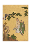 Taoist Immortals, C.1647 Giclee Print by Kano Sansetsu