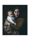 Mother and Child, 1904 Giclee Print by Julius Gari Melchers