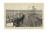 The Prince of Wales in the Terai, the First Leopard Giclee Print by Joseph Nash