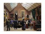 Auction Sale, 1880 Giclée-Druck von Jules Antoine Voirin