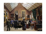Auction Sale, 1880 Giclee Print by Jules Antoine Voirin