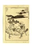 Sanki Fukaku Katachi O Kuzusu No Fuji Giclee Print by Katsushika Hokusai