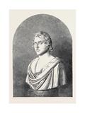 Bust of Lord Byron, 1852 Giclee Print by Lorenzo Bartolini