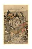 Chidori No Tamagawa Giclee Print by Kubo Shunman