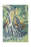 Kirifuri Falls Near Mount Kurokami in Shimotsuke Province, C. 1833 Giclee Print by Katsushika Hokusai