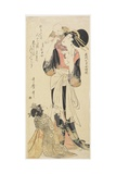 Yabe Masako from Mino Province, C. 1801-1804 Giclee Print by Kitagawa Utamaro