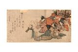 Hinamatsuri No Sirozake Giclee Print by Kubo Shunman