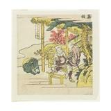 Fujieda, C. 1804 Giclee Print by Katsushika Hokusai