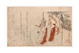 Katsugi No Futari No Onna Giclee Print by Kubo Shunman