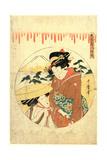 Hachidanme Giclee Print by Kitagawa Utamaro