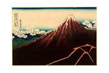 Sanka Hakuu Giclee Print by Katsushika Hokusai
