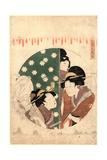 Kudanme Giclee Print by Kitagawa Utamaro