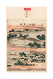 Seta No Sekisho Giclee Print by Katsushika Hokusai