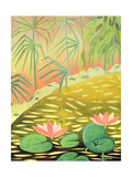 Water Lily Pond I, 1994 Giclee Print by Marie Hugo
