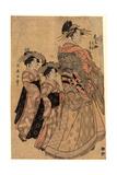 Matsubaya Uchi Somenosuke Giclee Print by Kitagawa Utamaro