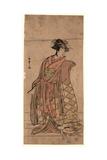 Segawa Kikunojo Giclee Print by Katsukawa Shunsho