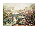 The Battle of Shiloh, 1862 Giclee Print by  Kurz And Allison