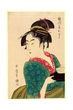 Naniwaya Okita Giclee Print by Kitagawa Utamaro