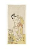 Ichikawa Danjuro V from the Play Shida Yuzuri Wa Horai Soga, 1775 Giclee Print by Katsukawa Shunsho