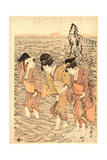 Futamigaura Giclee Print by Kitagawa Utamaro