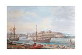 Brest, C.1780 Giclee Print by Louis Nicolas van Blarenberghe