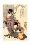Hinamatsuri Giclee Print by Kitagawa Utamaro