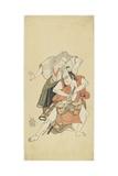 Sawamura Sojuro II and Otani Hiroji III, 1768 Giclee Print by Katsukawa Shunsho