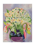 Lilies, 1989 Giclee Print by Laila Shawa