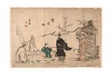 Oshukubai Giclee Print by Kitao Shigemasa