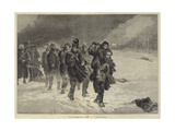 On the March from Moscow Giclee Print by Laslett John Pott