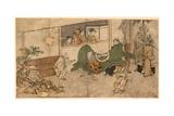 Daikagura Giclee Print by Kitagawa Utamaro