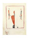 Three Suprematist Figures, C. 1921-2 Giclee Print by Kazimir Severinovich Malevich