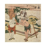 Fujisawa, C. 1804 Giclee Print by Katsushika Hokusai