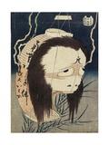 The Lantern Ghost, Iwa, C. 1831-1832 Giclee Print by Katsushika Hokusai