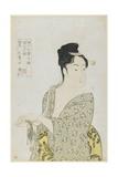 Fickle Type, 1792-1793 Giclee Print by Kitagawa Utamaro