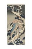 Cranes on Pine, C. 1834 Gicléedruk van Katsushika Hokusai