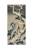 Cranes on Pine, C. 1834 ジクレープリント : 葛飾・北斎