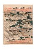 Karasaki No Yau Giclee Print by Katsushika Hokusai