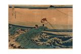 Koshu Kajikazawa Giclée-Druck von Katsushika Hokusai