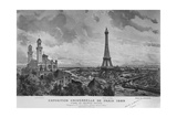 The Exposition Universelle of 1889 Giclee Print by Louis Tauzin