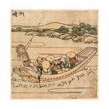 Kawasaki Giclee Print by Katsushika Hokusai